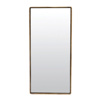 Reflection Mirror - Antique Brass - Antique Brass