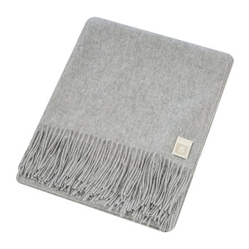 Imagine Cashmere Blanket - 130x180cm - Light Gray