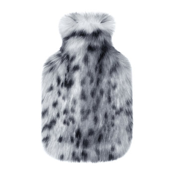 Hot Water Bottle - Arctic Leopard
