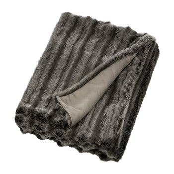 Faux Fur Throw - Aspen