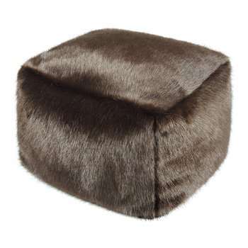 Cube Pouf - Treacle