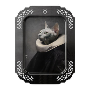 Galerie De Portraits - Rectangular The Cat Tray