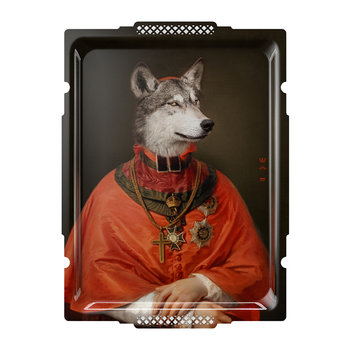 Galerie De Portraits - Rectangular The Wolf Tray