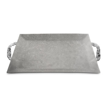 Sierra Rectangular Tray - Frosted
