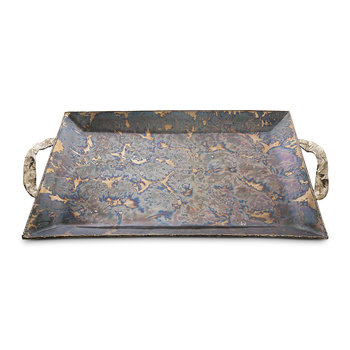 Sierra Rectangular Tray - Rainbow Bronze