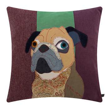 Tarquin the Pug Pillow - 50x50cm