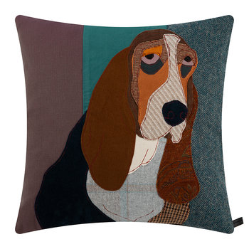 Lucien the Basset Cushion - 50x50cm