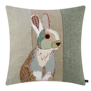 White Rabbit Cushion - 59x50cm