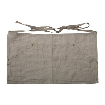 Linen Workers Apron - Natural