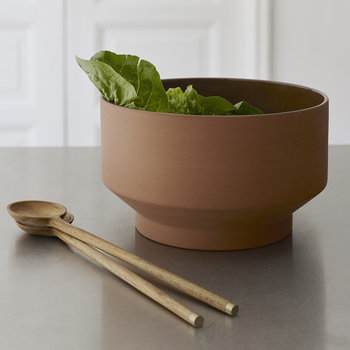 Edge Salad Bowl - Terracotta