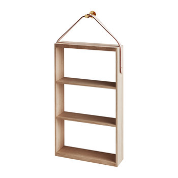 Norr Shelf - Oak/Brass