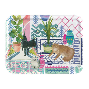 Cats Canteen Rectangle Tray