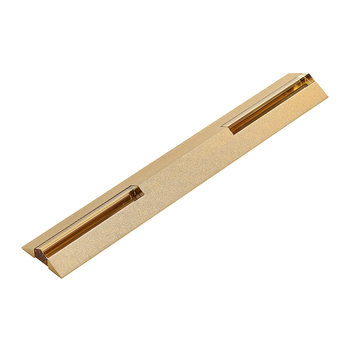 Crystal Stationery Ruler - Bronze