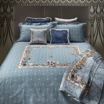New Spider Bed Set - Light Blue