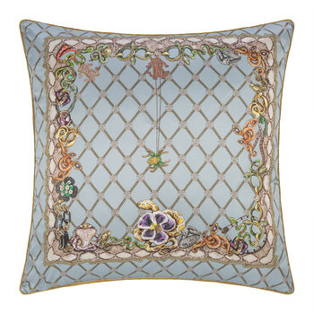 New Spider Silk Pillow - Light Blue