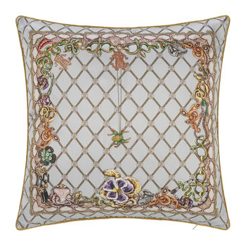 New Spider Silk Cushion - Grey