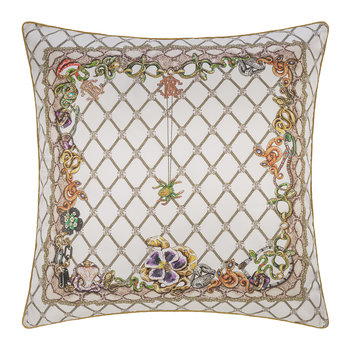 New Spider Silk Pillow - White
