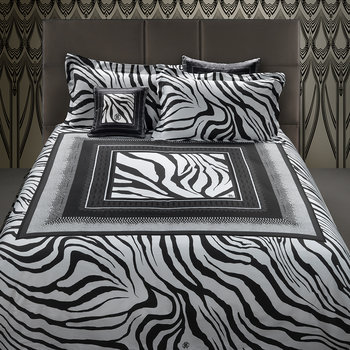 Frame Zebrage Bed Set - Grey