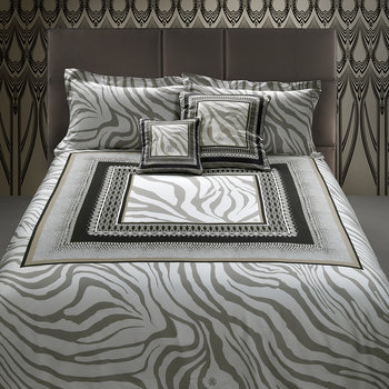 Frame Zebrage Bed Set - Sand