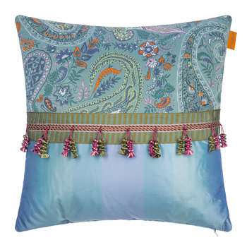 Seguret Cushion - 45x45cm - Teal