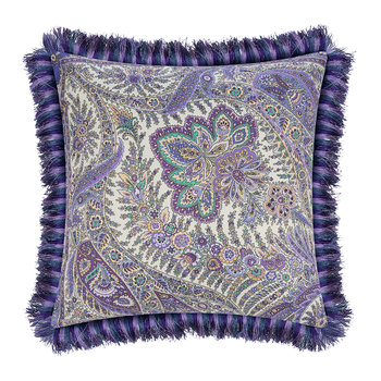 Colombara Tassel Edged Cushion - 45x45cm - Blue
