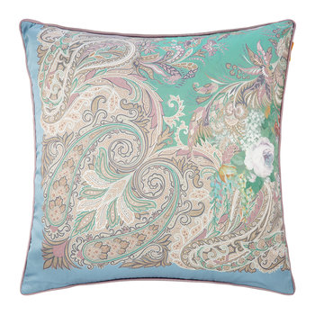 Lourmarin Cushion - 60x60cm - Teal