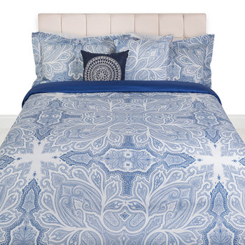 Gatsby Bed Set - Blue