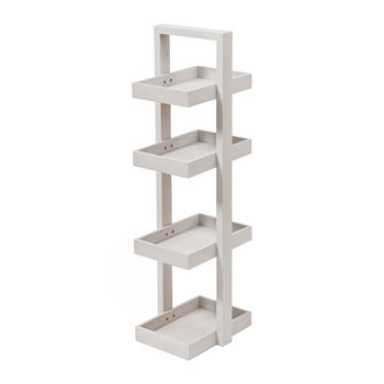 4 Tier Bathroom Caddy - Oyster Oak