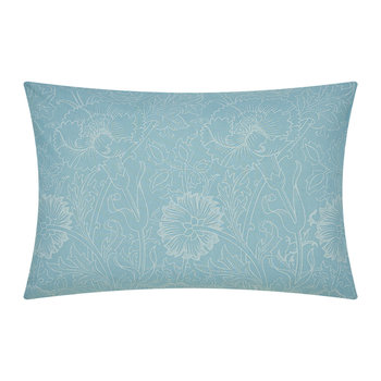 Pink and Rose Pillowcase Pair - Teal