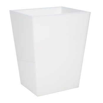 White Ice Waste Bin