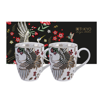 Mythical Crane Mug Set - Set of 2