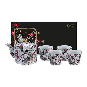 Mythical Crane Tea Set