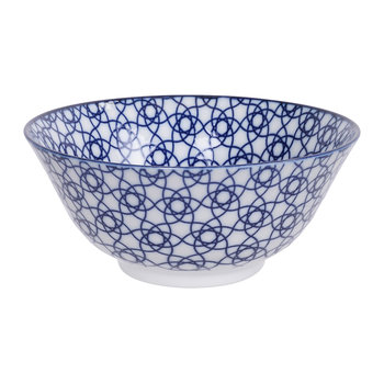 Nippon Blue Bowl - Stripe