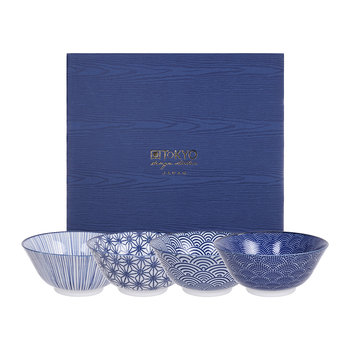 Nippon Blue Bowl Set - Set of 4