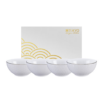 Nippon White Bowl Set - Set of 4