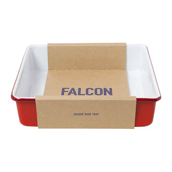 Square Bake Tray - Pillarbox Red