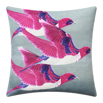 Violet Backed Starling Cushion - 45x45cm