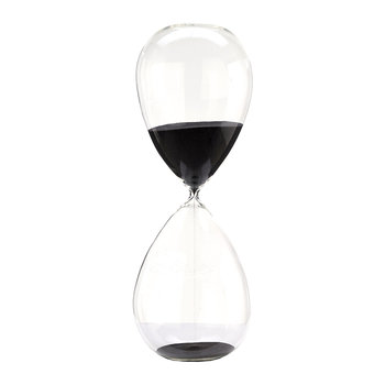Hourglass Ball - Black - 3 Hours - Extra Large