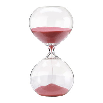 Hourglass Ball - Pink - 30 Minutes - Small