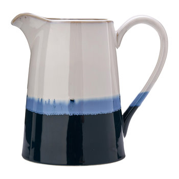 Panorama Pitcher - Blue