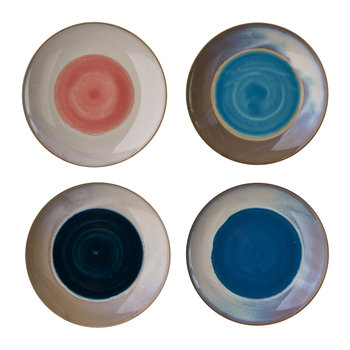 Panorama Plates - Set of 4 - Dinner Plate