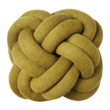 Knot Pillow - 30x30cm - Yellow