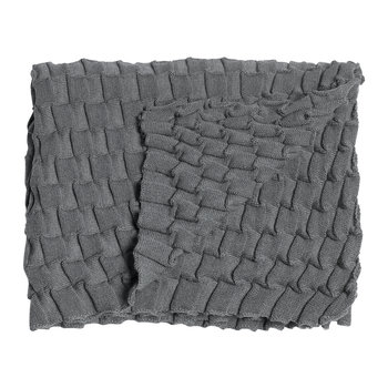 Curly Throw - 170x80cm - Gray