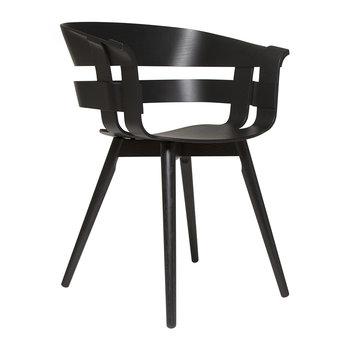 Wick Chair - Black Ash