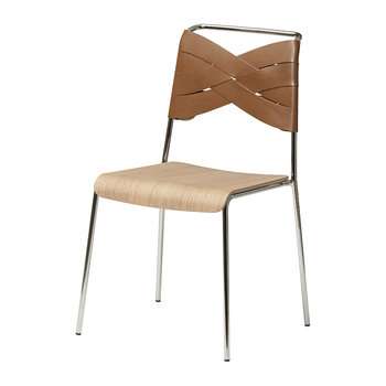 Torso Chair - Oak/Cognac