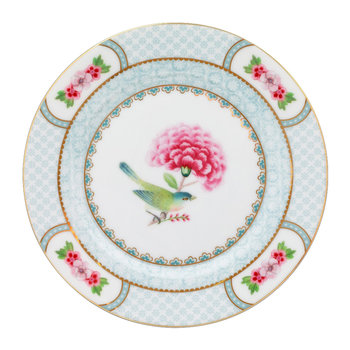 Blushing Birds Side Plate - White