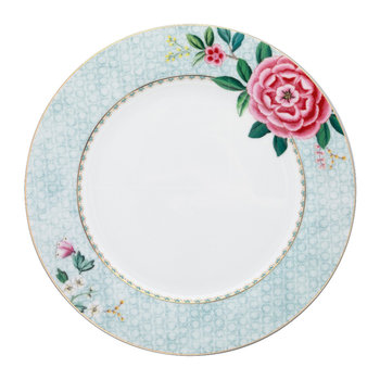 Blushing Birds Dinner Plate - White