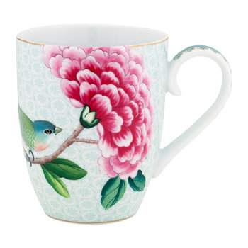 Blushing Birds Mug - White - Large