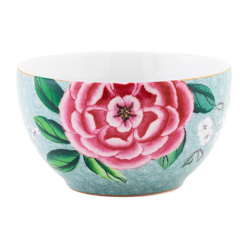 Blushing Birds Snack Bowl - 9.5cm - Blue