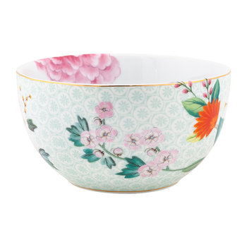 Blushing Birds Cereal Bowl - 12cm - White